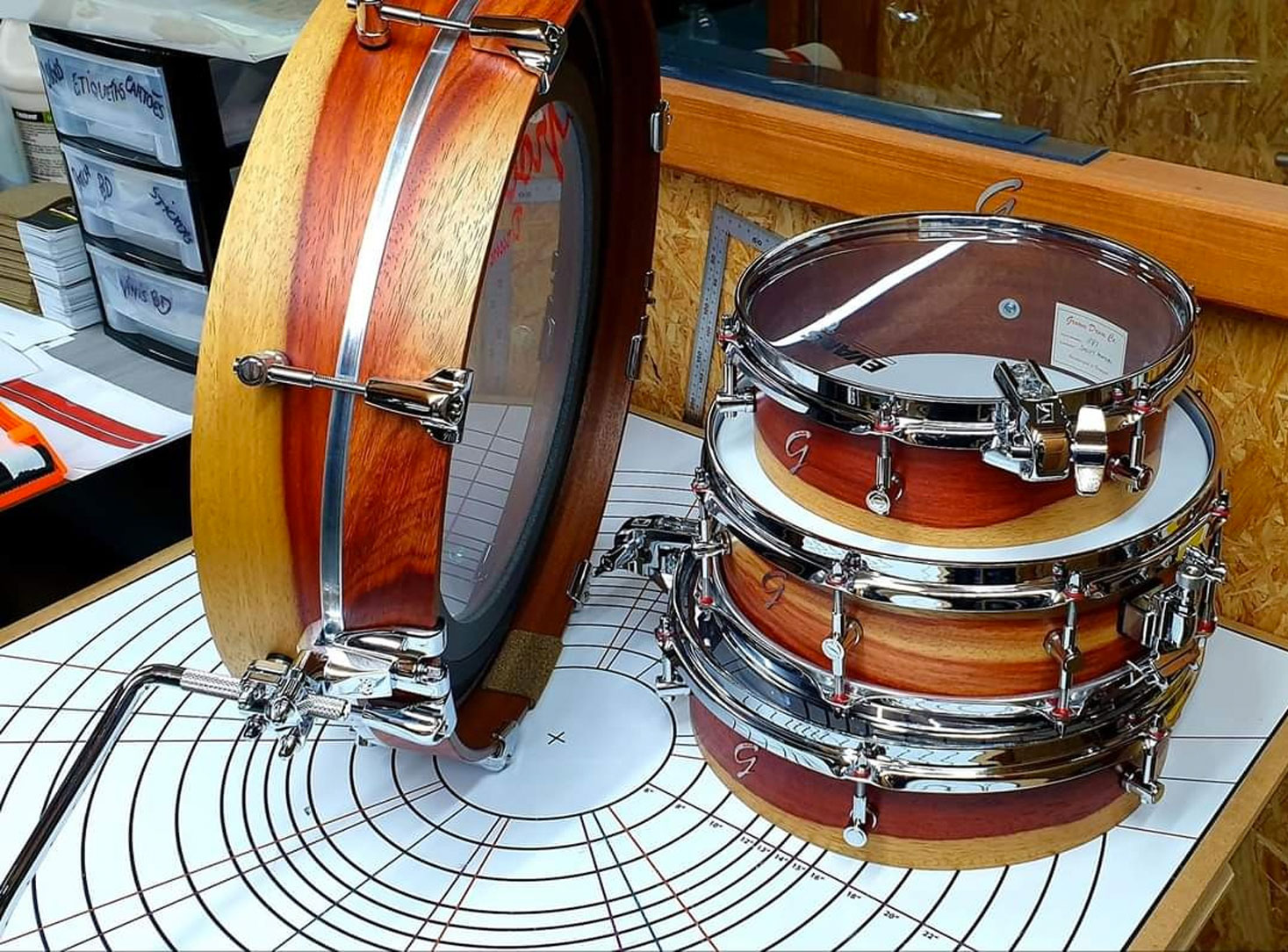 Pancake Drums (Shells)