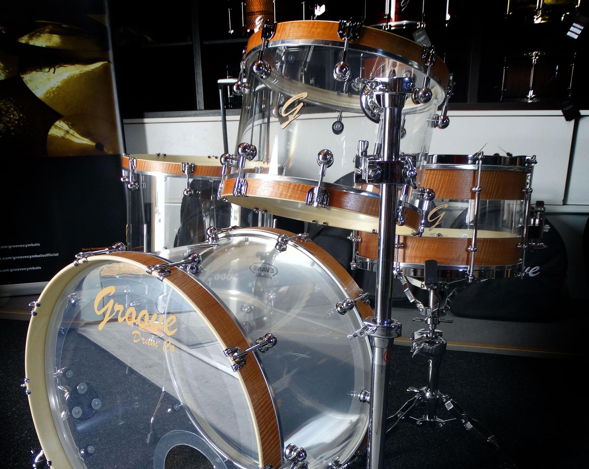 Acrylic Drumkit